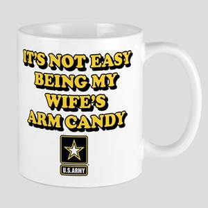 U.S. Army Being My Wife's Arm Ca 11 oz Ceramic Mug