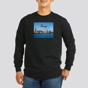 Chicago Long Sleeve Dark T-Shirt