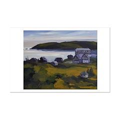 Monhegan , Maine - View of Manana Posters