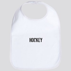 Hockey Is Importanter Baby Bib
