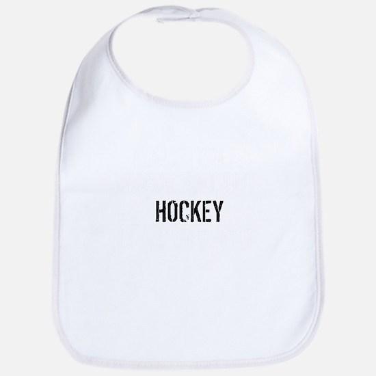 Hockey Is Importanter Baby Bib