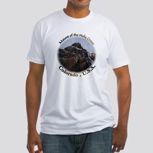 Mount of the Holy Cross Color Fitted T-Shirt