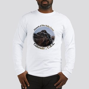Mount of the Holy Cross Color Long Sleeve T-Shirt