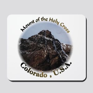 Mount of the Holy Cross Color Mousepad