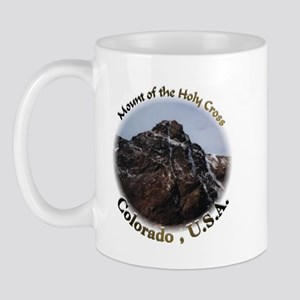 Mount of the Holy Cross Color Mug