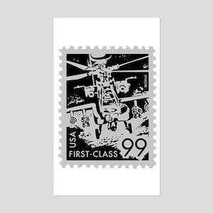 Apache Stamp Series Rectangle Sticker
