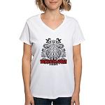 Women's V-Neck Barcelona T-Shirt
