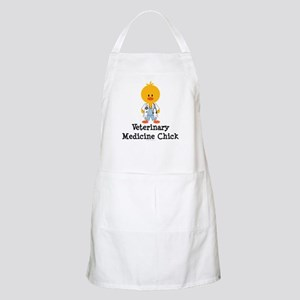 Veterinary Medicine Chick BBQ Apron