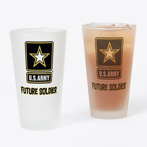 U.S. Army Future Soldier Drinking Glass