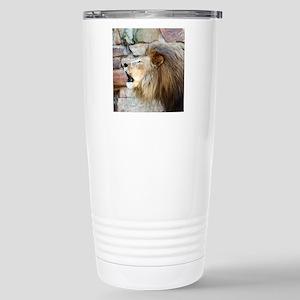 Lion Roar Stainless Steel Travel Mug