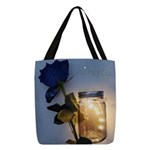 Firefly Polyester Tote Bag