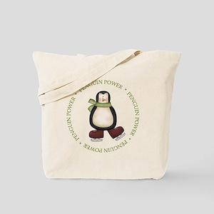 Penguin Power Tote Bag