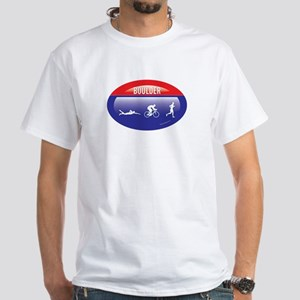 Interstate Boulder Triathlon White T-Shirt