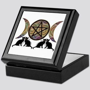 Crystal Ball Pentagram Keepsake Box