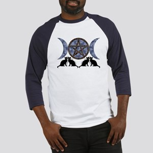 Mystic Blue Pentagram Baseball Jersey
