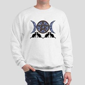 Mystic Blue Pentagram Sweatshirt