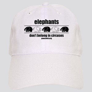 Elephants Don't Belong In Circuses Cap