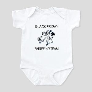 BLACK FRIDAY SHOPPING TEAM Infant Bodysuit