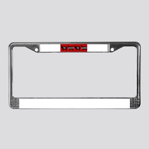 No Goats No Glory License Plate Frame