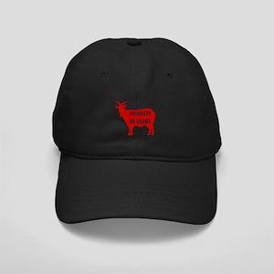 No Goats No Glory Black Cap