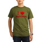 I Love Maple Grove Organic Men's T-Shirt (dark)