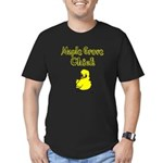Maple Grove Chick Men's Fitted T-Shirt (dark)