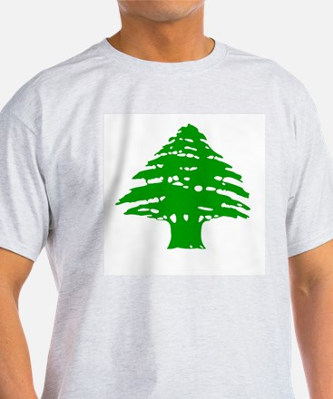 Cedar Tree Ash Grey T-Shirt
