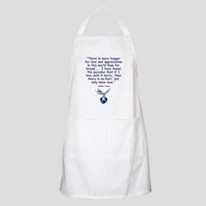 Mother Teresa Love BBQ Apron