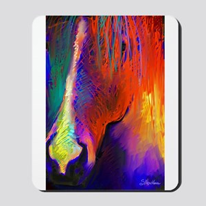red horse  Mousepad