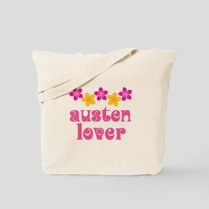 Pretty Jane Austen Tote Bag