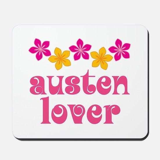 Pretty Jane Austen Mousepad