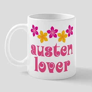 Pretty Jane Austen Mug