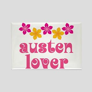 Pretty Jane Austen Rectangle Magnet