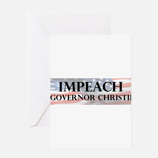 Impeach Christie Greeting Card