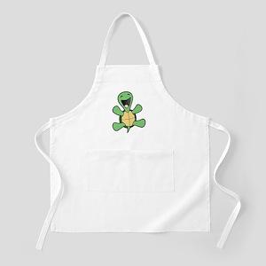 Happy Turtle BBQ Apron