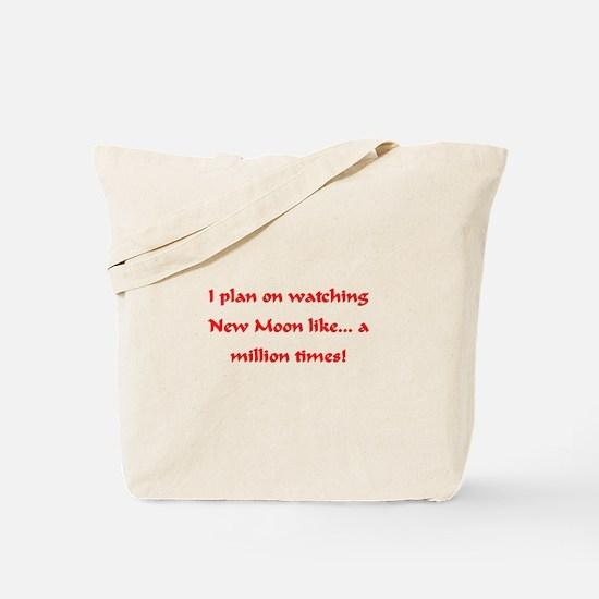 I love watching New Moon Tote Bag