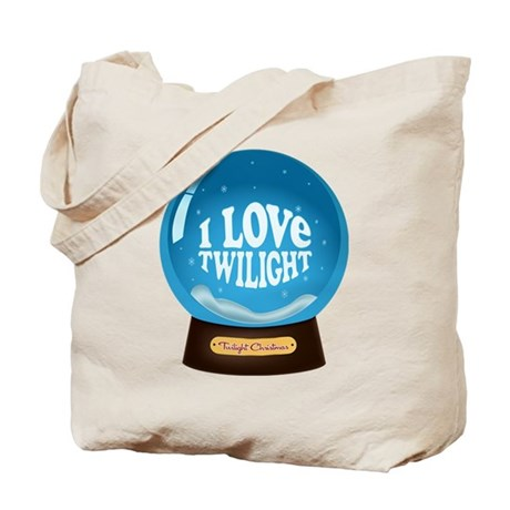 Twilight Snow Globe Tote Bag