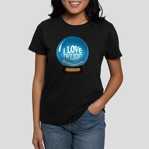 Twilight Snow Globe Women's Dark T-Shirt