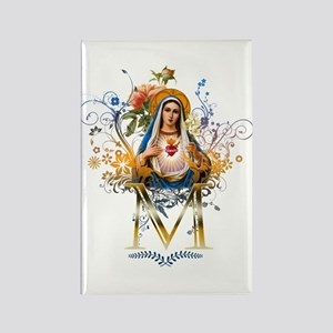 Immaculate Heart of Mary Rectangle Magnet