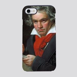 Vintage portrait of composer,  iPhone 7 Tough Case