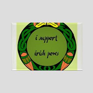 SUPPORT IRISH POWs Rectangle Magnet
