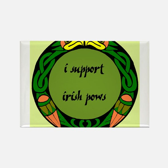 SUPPORT IRISH POWs Rectangle Magnet