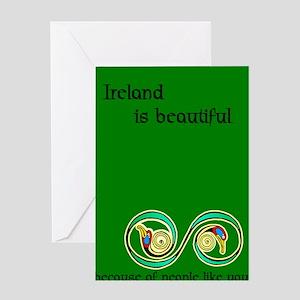 Celtic Artwork Greeting Card