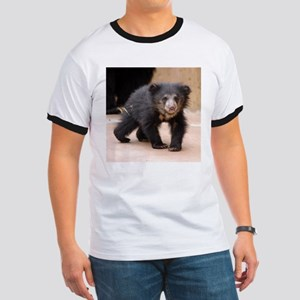 Sloth Bear Cub Ringer T