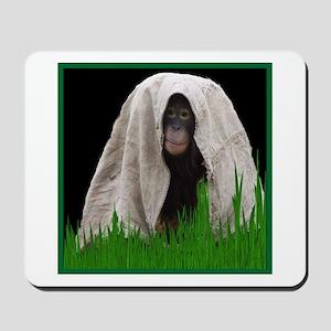 Chimp play Mousepad