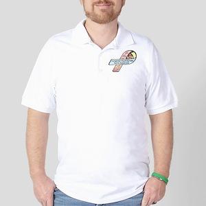 Jackson Levi Durst CDH Awareness Ribbon Golf Shirt