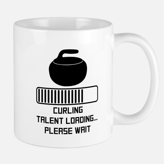 Curling Talent Loading Mugs