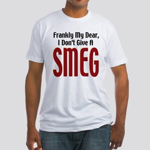 Don't Give A Smeg Fitted T-Shirt