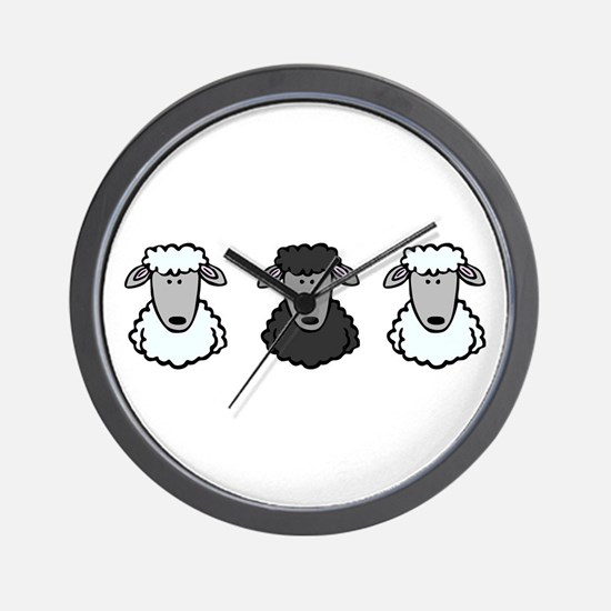 Black Sheep Of the Family Wall Clock