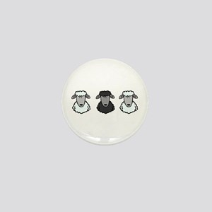 Black Sheep Of the Family Mini Button